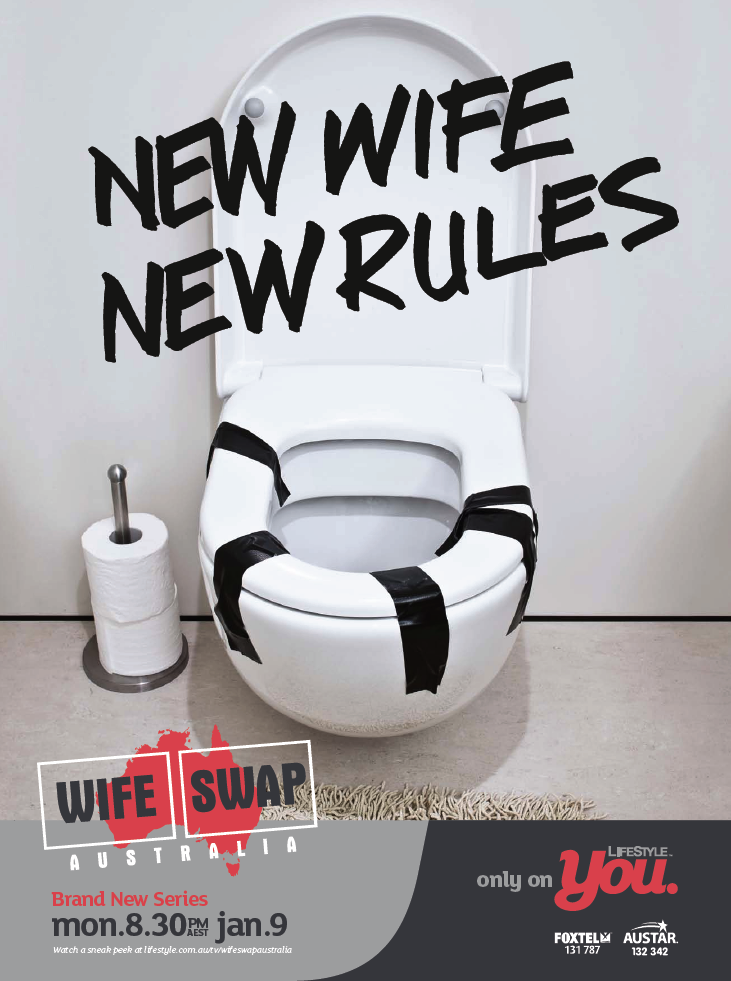 Wife Swap Toilet