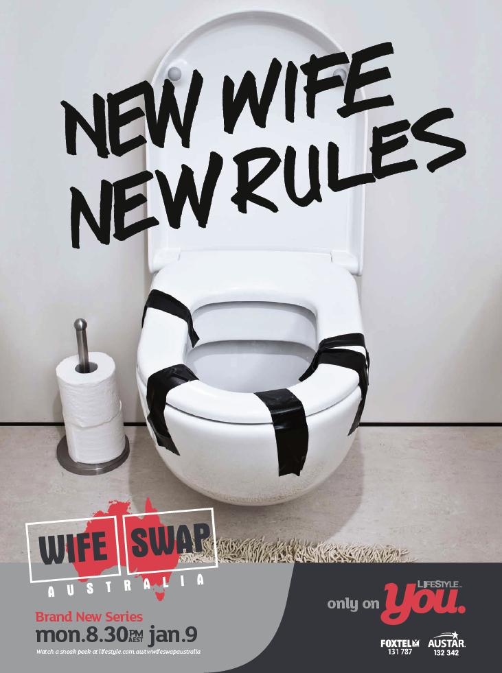 Wife Swap Toilet